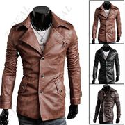 Куртка из PU кожаны для мужчин