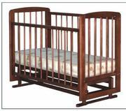 Продам кроватку детскую НОВУЮ (в упаковке,  с чеком).